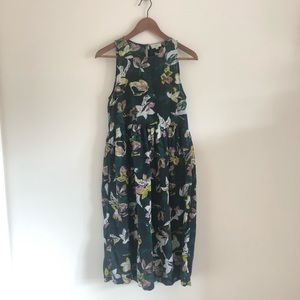 Wilfred Aritzia 100% Cotton Floral Print Dress